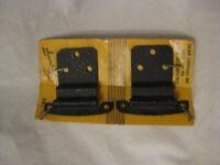 "Forgecraft No. 780 vintage Semi-Concealed Hinges  for 3/8"" inset U.S.A. nos"