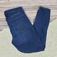 Gap 1969 True Skinny Super High Rise Jeans Dark Indigo Womens Size 31 R