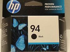 (4) 2015 Genuine HP 94 Black OfficeJet 6200 6210 6213 6215 7210 7310