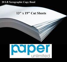 "13"" x 19"" 750 Sheets 20 lb Bond CAD Multipurpose Plotter Paper 94 Ultra Bright"