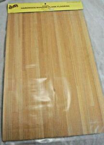 "Hardwood Random  Plank Flooring Sheet 1/12 scale dollhouse miniature 11x17"" 7024"