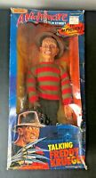 Vintage A Nightmare on Elm Street Talking Freddy Krueger Matchbox Poseable
