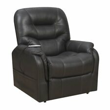 Beaumont Lane Heat And Maging Lift Recliner In Black