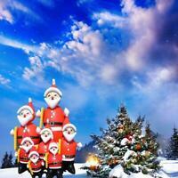27cmx11cm Weihnachten Figur Singender Tanzender Weihnachtensbaum Weihnachtsmann