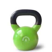 Vinyl Kettlebell (6kg) - Lime - Kugelhantel für dein perfektes Home Workout!