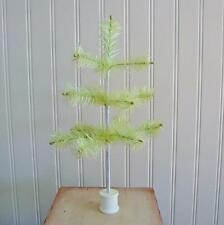 Bethany Lowe Easter Spring Green Feather Tree 12 inches on Spool Christmas