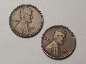 1931--P&D @    (Key) Lincoln Pennies **From old Rolls**