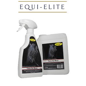 Smart Grooming Tame the Mane - Horse Mane Tail Conditioner & Detangler