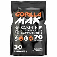 Gorilla Max Muscle Building Powder for Pit Bulls, Bulldogs, & Working Breeds