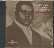 Blind Lemon Jefferson * by Blind Lemon Jefferson (CD, 1992, Milestone)