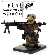 CUSTOM MADE Military + Weapon Soldier Army Police SWAT Minifigure For LEGO #3