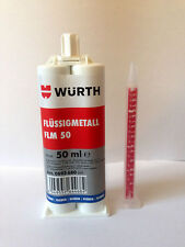 Würth Spachtel FLM 50 Metallkleber - 2K Metallspachtel 50ml Würth Flüssigmetall
