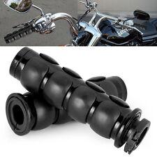 "Motorcycle Hand Grips 1"" Handlebar Pair 4 Harley Davidson Softail FXSTI Custom"