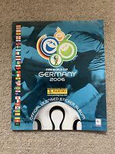 Panini  Fifa World Cup 2006 album.+170 Stickers Inserted