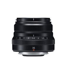 Fujifilm Fujinon XF 35mm f/2 R WR Lens (Black) fast lens NIB