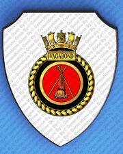HMS VAGABOND WALL SHIELD
