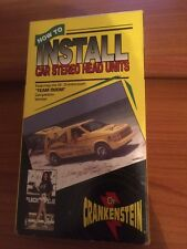 How To Install Car Stereo Head Units (VHS) Dr. Crankenstein...RARE, OOP...27
