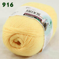 Sale 1 Skein x50gr LACE Soft Crochet Acrylic Wool Cashmere hand knitting Yarn 16
