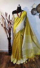 Raw silk Bollywood Sari Women's Special Wear Indian Wear Designer Sari I 18-6