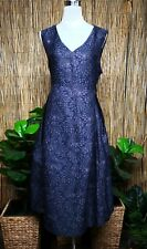 Plus Size Taking Shape Evening/ Special Occasion Blue Dress Fully Lined Size 24