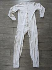 vintage cotton UNION SUIT white XL 46-48 long johns