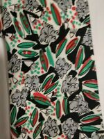 Viva la wombat Tie Koala Print made in Australia Black Red Green