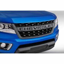 OEM GM 2018-2020 Chevy Colorado Front Grille 84431359 Black w/ Chevrolet Script