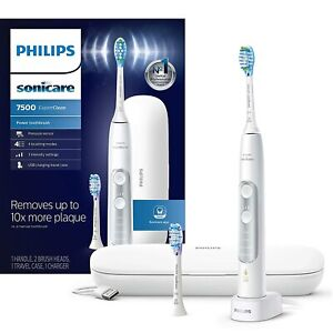 Philips Sonicare HX9690/06 ExpertClean 7500 Bluetooth Toothbrush White