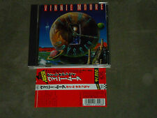 Vinnie Moore‎ Time Odyssey Japan CD Jordan Rudes