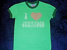 Junkfood I Love Junkfood T-Shirt Child Large Made in U.S.A.