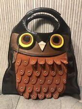 Authentic NEW $335 Kate Spade Handbag MAXIMILLIAN MAXWELL OWL Tote Bag