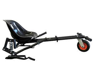 Hover kart Hover Go Kart Suspension Model Adjustable Bucket Seat BLACK
