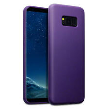 Fin Caoutchouc Pare Chocs Gel coque pour Samsung Galaxy S8 Plus - Violet Mat