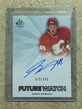 11-12 SPA SP Authentic Rookie FW Future Watch RC Auto GREG NEMISZ /999