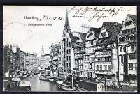 Ansichtskarte Hamburg Deichstrassen-Fleet - 00583
