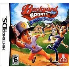 Backyard Sports: Sandlot Sluggers Nintendo DS/3DS Kids Baseball Game