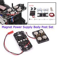 Magnet Netzteil Auto Karosserie Post Kit für 1/10 TRX4 RC4WD UDR D90 RC Auto