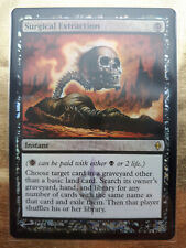Surgical Extraction (MTG) New Phyrexia, NPH Buy a Box Promo FOIL, NM