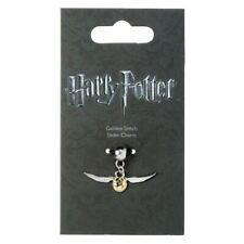 Harry Potter Silver Plated Golden Snitch Slider Bracelet Charm - Quidditch Carat