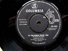 "EARTHA KITT An Englishman Needs Time-Columbia original 7"" 1963"
