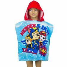 Paw Patrol Bathroom Poncho Hood Shower Towel Bathing Sheet Beach Sheet