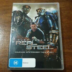 Real Steel Hugh Jackman DVD R4 Like New! FREE POST