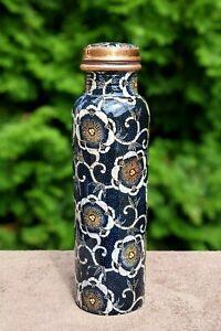 950 ml Pure Copper water bottle   Ayurvedic Health Benefits Bottles Yoga