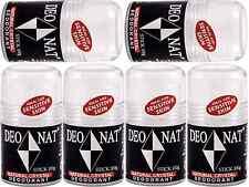 6 x 100g DEONAT Deo Nat Natural Crystal Stick Deodorant ( Sensitive Skin )