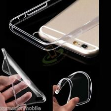 Google Pixel 2 Clear Hybrid TPU Rubber Silicone Gel Transparent Case Cover + Kit