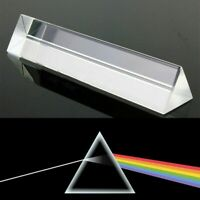 Dreiecksprisma Tripelprisma Glasprisma Triangular Prisma Optisches Glas L=80mm
