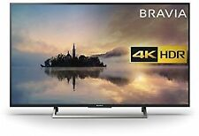 """Sony Bravia KD49XE7093BU 49"""" 4K HDR Smart TV (2017 Exclusive Model) Black"""