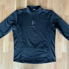 B-Twin Long Sleeve Jersey Black XL EXCELLENT CONDITION
