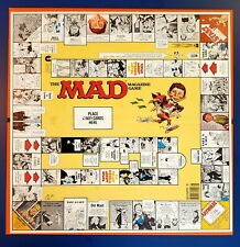VTG 1979 THE MAD MAGAZINE Parker Brothers Board Game - REPLACEMENT BOARD ONLY