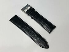 New - Hamilton - Black Leather Strap - 0 7/8in - with Closing